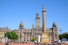 George Square, Glasgow,UK