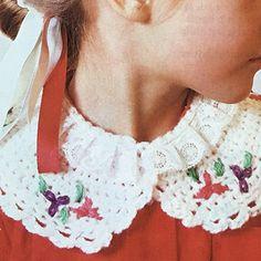 Kant en kraag Crochet Necklace, Fashion, Moda, Fashion Styles, Fashion Illustrations