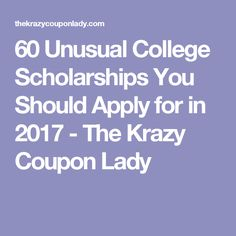 How to successfully ask for a letter of recommendation professor 60 unusual college scholarships you should apply for in 2017 the krazy coupon lady negle Image collections