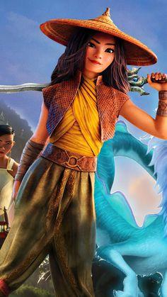 Raya and The Last Dragon Movie Poster 4K Ultra HD Mobile Wallpaper. Cartoon Movies, Disney Movies, Cute Cartoon, Cartoon Art, Disney Characters, Fictional Characters, Cute Wallpaper Backgrounds, Disney Wallpaper, Cartoon Wallpaper