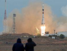 いざ宇宙ステーションへ! 米露飛行士がソユーズロケットで打上げ成功 | sorae.jp : 宇宙(そら)へのポータルサイト
