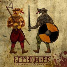 Úlfhédnar Recreación Vikinga