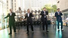 98 Degrees, New Kids on the Block and Boyz II Men perform on The Today Show