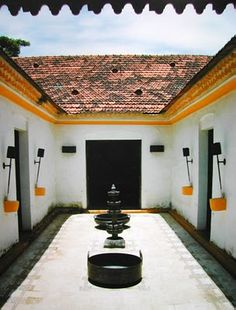 Rang-Decor {Interior Ideas predominantly Indian}: Sangolda, Goa Indian Interior Design, Indian Home Design, Decorating Blogs, Interior Decorating, Interior Ideas, White Wash Walls, Indian Interiors, Indian Homes, Goa