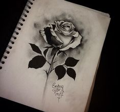 Lessons That Will Get You In The arms of The Man You love Pencil Drawings Of Flowers, Flower Art Drawing, Flower Tattoo Drawings, Tattoo Sketches, Flower Tattoos, Mago Tattoo, Chicanas Tattoo, Skull Rose Tattoos, Black Rose Tattoos