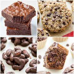 37 Healthier Recipes to Try in 2017 - Baker by Nature Healthy Cooking, Healthy Eating, Healthy Treats, Healthy Recipes, My Favorite Food, Favorite Recipes, Banana Bread, Clean Eating, Muffin