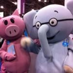 Possibly even more exciting than an Elephant & Piggie sighting (crazy as that sounds!) is two copies of the NEW Elephant & Piggie book sig Book Character Costumes, Book Characters, Fictional Characters, Piggie And Elephant, Mo Willems, Just For Fun, Kid Books, Education, Creative