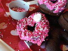 Valentine's Day Kindness: Valentine's Day Donuts for the Kids to Deliver to the Neighbors