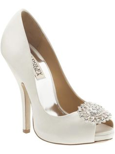 Badgley Mischka Women's Lissa Open-Toe Pump