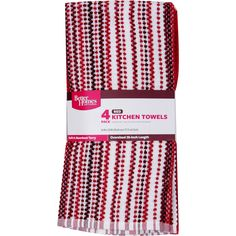 Better Homes and Gardens Kitchen Towels, 4pk - Walmart.com
