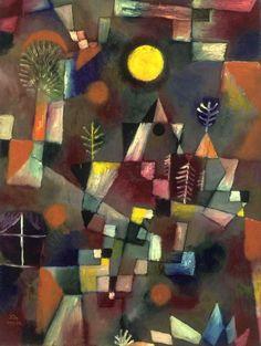 Full moon Paul Klee 1919