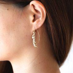 shirotsumekusa yumi pierce - asumi bijoux