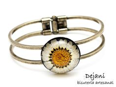 Echte bloem armband van Dejani op DaWanda.com
