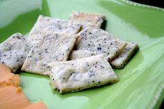 Sea Salt and Poppy Seed Crackers