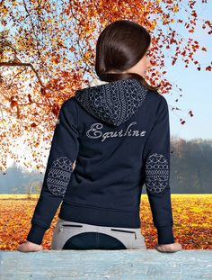 Equiline sweatshirt. #horse #riders #equipment #cold #cozy #equestrian #style…