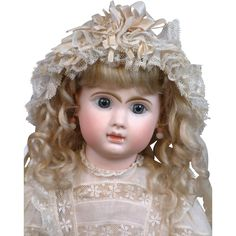 """19"""" Museum Quality All Factory Original J.N. Steiner """"Le Parisien """" French Bebe--Just WoW!"""