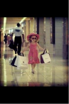 this is me on pay day! Shopping is a disease known too every woman!