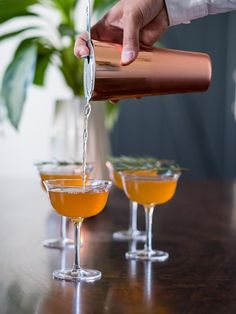 The Perfect Fall Libation: Spiced Pear Tequila Cocktail - Pottery Barn