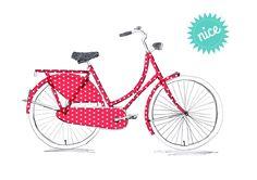 *KLEIN, ABER EIN ECHTER HINGUCKER* Mit diesen schönen Punktaufklebern könnt ihr euer Fahrrad neu gestalten und stylisch durch die Stadt radeln.  ...