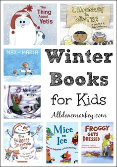Winter is a wonderful time for sharing books with kids, as it lends itself perfectly to snuggling up under a blanket together to read favorite winter books.