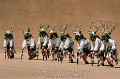 Luna and Tyler have vacationed multiple times a year in Santa Fe for a long time. They enjoy the Native American culture, such as these Tewa deer dancers, San Ildefonso Pueblo, New Mexico, USA