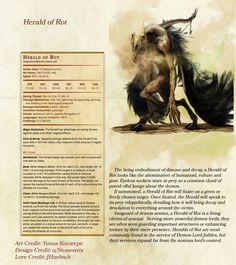 Demon fiend stats. CP 6