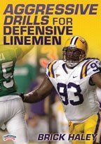 Brick Haley: Aggressive Drills for Defensive Linemen (DVD) by Championship Productions. $39.99. with Brick Haley, Louisiana State University Defensive Line Coach (11th in the nation in points allowed in 2009); former Chicago Bears (NFL) Defensive Line Coach (5th in the NFL in rushing yards allowed in 2008, and sixth in the NFL in sacks in 2007)  Build a quick and explosive defensive line using these proven drills and techniques.  Brick Haley offers a great balanc...