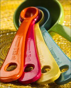 Bamboo Fiber Measuring Spoons