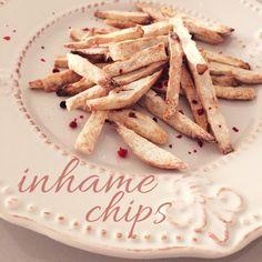 Cozinho, logo existo. Chips de Inhame na Air Fryer (Yam Chips - Air Fryer)