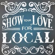 This holiday season please think local. Think homemade. Support your artists. Small Business Quotes, Small Business Saturday, Business Signs, Business Ideas, Buy Local, Shop Local, Support Local Business, Lokal, Branding