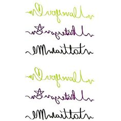 Oottati Small Cute Temporary Tattoo English Love You Hate You (2 Sheets) -- Click image to review more details. (This is an affiliate link and I receive a commission for the sales) #Makeup