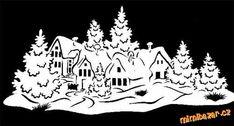 vánoční šablony na vystřihování - Hledat Googlem