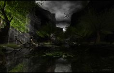 Hazardous - Tranquility by Amona Savira, via Flickr Second Life, Landscapes, Frame, Artwork, Paisajes, Picture Frame, Scenery, Work Of Art, Auguste Rodin Artwork