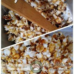 Resipi / resepi / recipe Popcorn Caramel