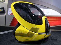 Chevrolet's EN-V Concept from the 2012 Detroit Auto Show.