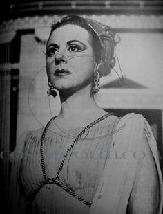 Mary Aroni in Lisistrati - Epidavros 1957
