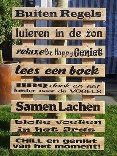 enjoy summer :D Garden Deco, Love Garden, Dream Garden, Home And Garden, Ibiza, Porches, Beton Design, Garden Quotes, Enjoy Summer