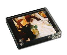 Porta Retrato Imantado em Cristal - JO Decor