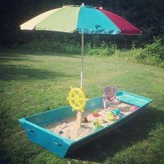 DIY Sandbox Boat Tutorial