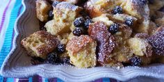 Blueberry and Lemon French Toast Casserole