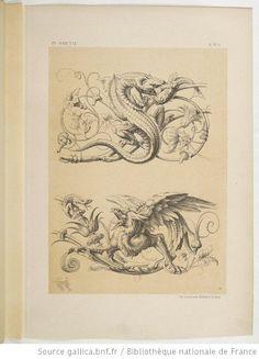 Specimens de la décoration et de l'ornementation au XIXe siècle / par Liénard - 17