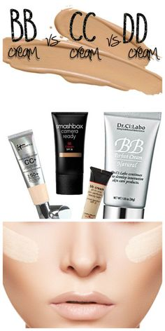 Get the 411 on BB,CC, and DD creams. #makeup,#beauty,#skin care
