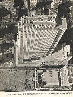 vintage NEW YORK photograph Rockefeller by VintageAndNostalgia