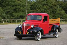 The Plymouth Pickup was developed in 1936 as an alternative to the trucks being built by Chrysler - purely because every Plymouth dealer in the American Pickup Trucks, Vintage Pickup Trucks, Classic Pickup Trucks, Antique Trucks, Vintage Cars, Antique Cars, Cool Trucks, Big Trucks, Chrysler Trucks