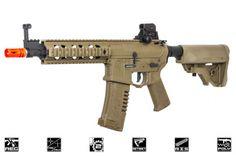 Elite Force Amoeba AM08 M4 CQB Carbine AEG Airsoft Gun ( Flat Dark Earth )