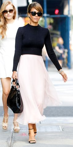 9 Best Street Style Looks of 2013 - Jessica Alba from #InStyle