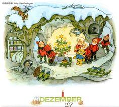 Fritz Baumgarten Calendar DECEMBER