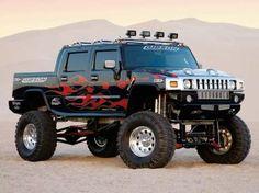 how bout' a hummer 4x4 Trucks, Custom Trucks, Lifted Trucks, Cool Trucks, Custom Cars, Cool Cars, Semi Trucks, Hummer H2, Hummer Truck