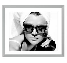 Buy Eichholtz Monte Carlo Print On Dibond Limited Edition online with Houseology's Price Promise. Full Eichholtz collection with UK & International shipping. Monte Carlo, Monaco, Amsterdam, White Wall Art, Vogue, White Home Decor, Contemporary Home Decor, Monochrom, White Houses