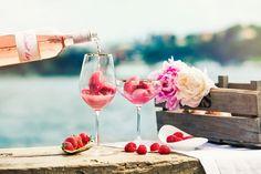 Rosésorbet – drink och dessert i ett!